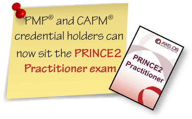 PRINCE2 for PMP and CAPM holders