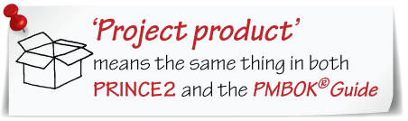 PRINCE2 products