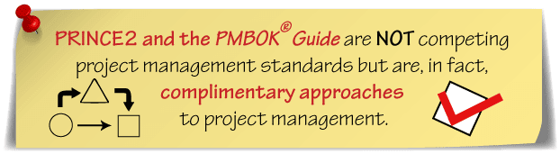 PRINCE2 and PMP complementary