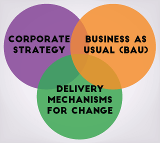 programme management aligns 3 critical business areas