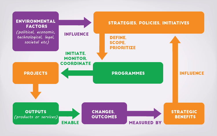 how programme management fits in organisations